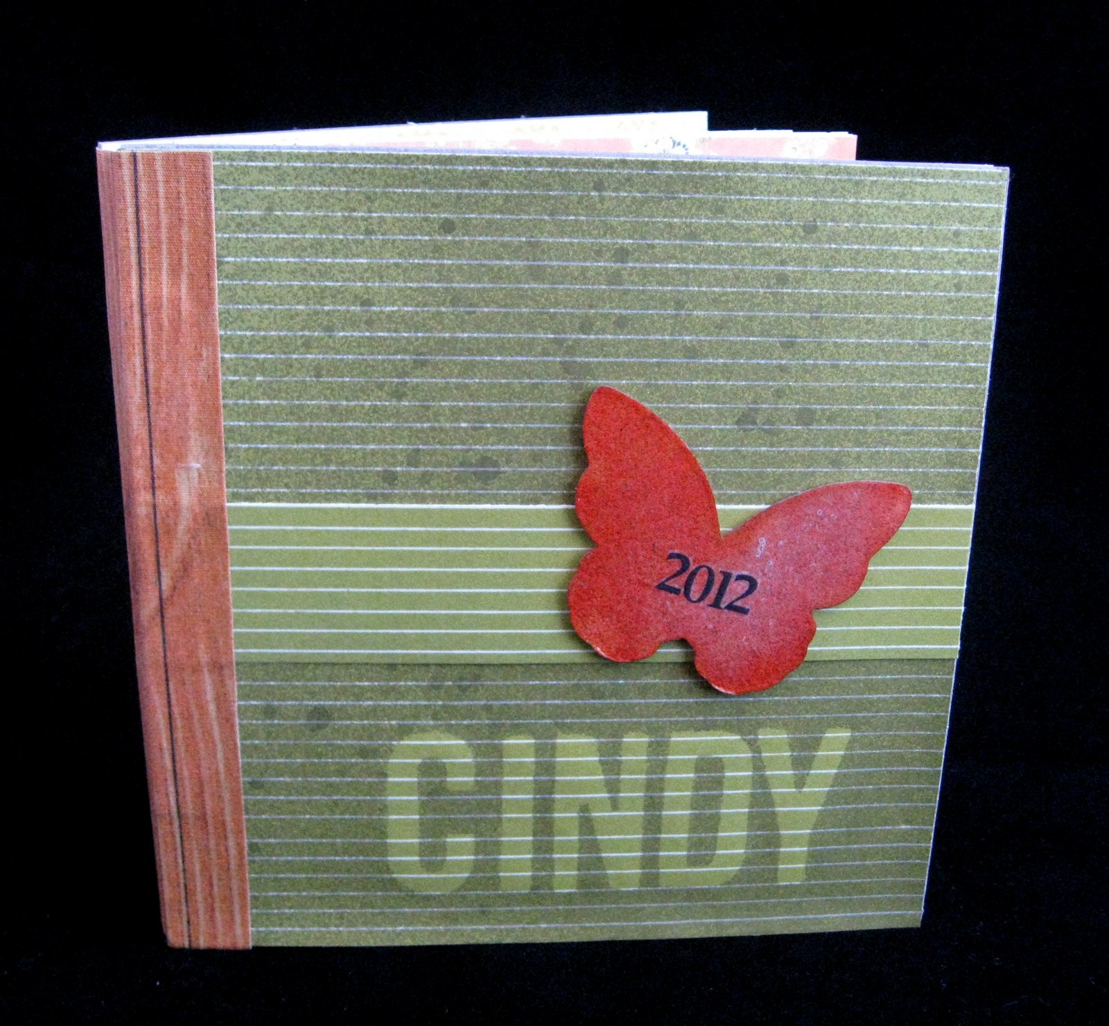 Cindy deRosier: My Creative Life: Time Machine Mini Book