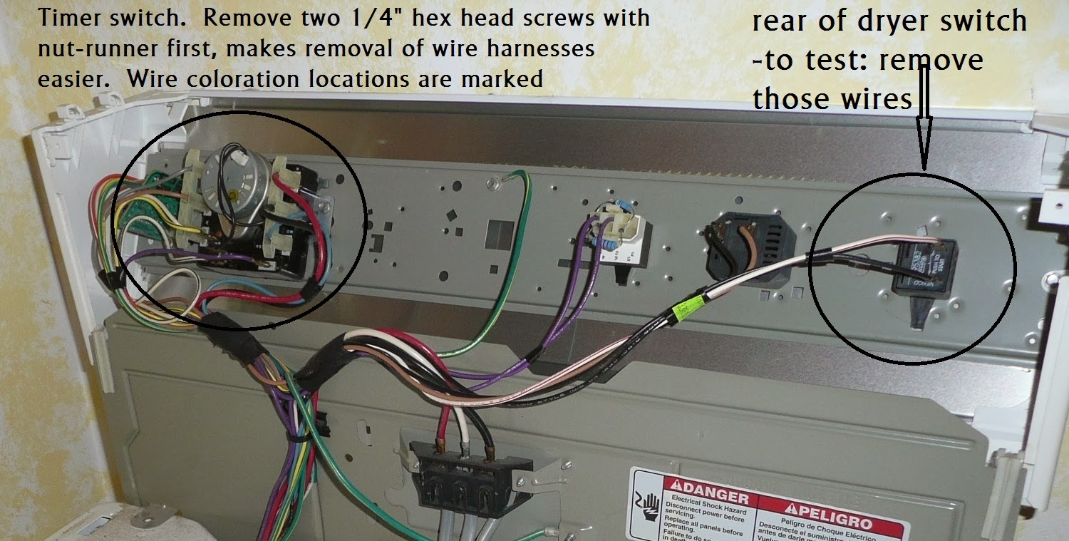 Kenmore Dryer Wiring Diagram On Kenmore 80 Series Dryer Heating