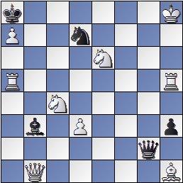 Problema de mate en 2 de Joan Claret, Els Escacs a Catalunya, 1933