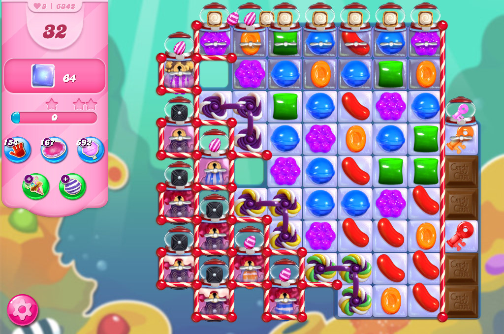 Candy Crush Saga level 6342