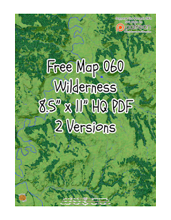 Free Map060: Into the wilderness