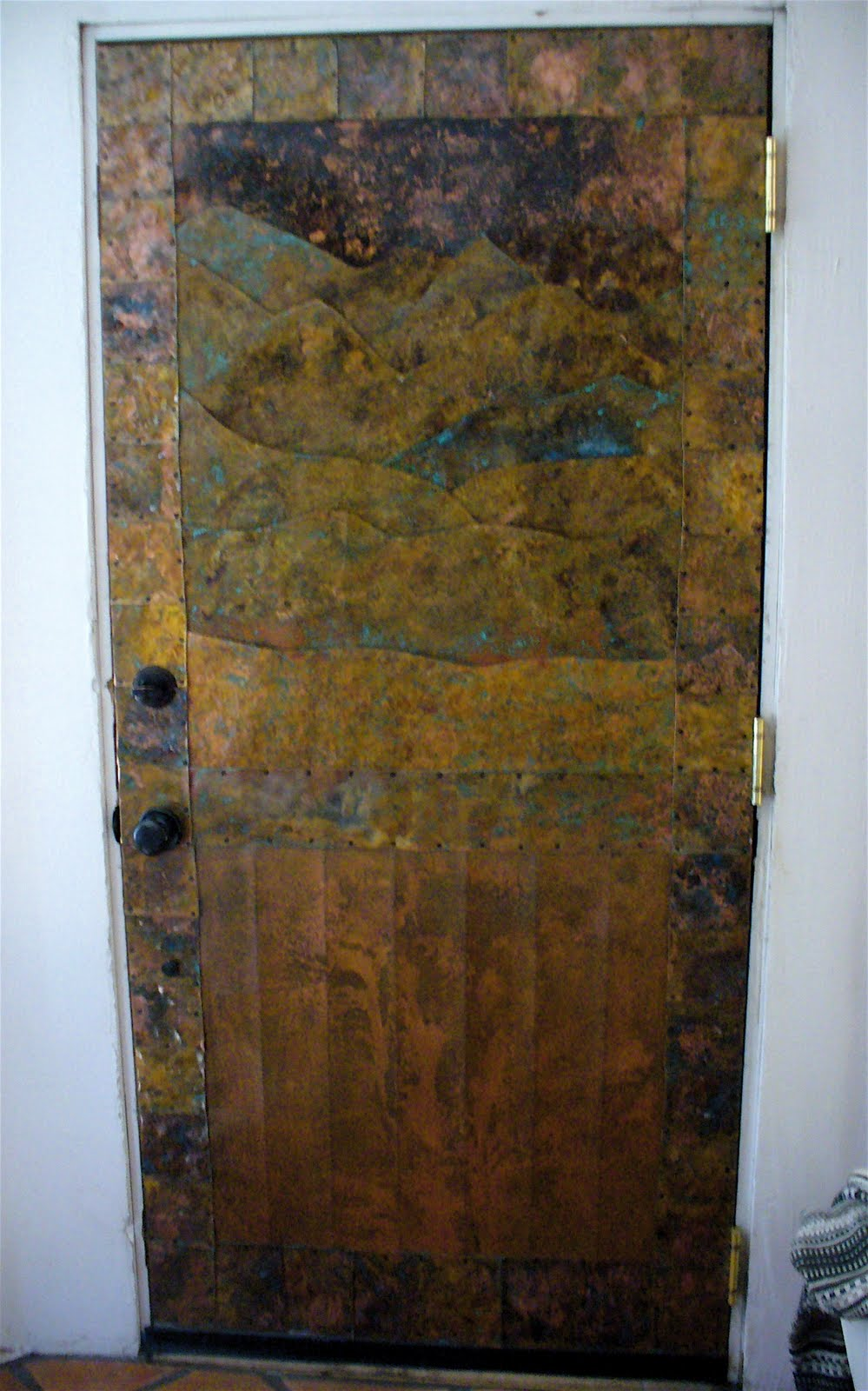 Alt. Build Blog: Carved Wood And Formed Metal Doors