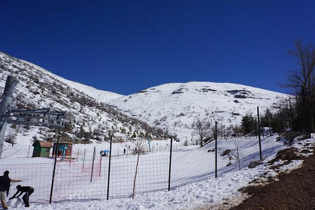 הר החרמון בחורף