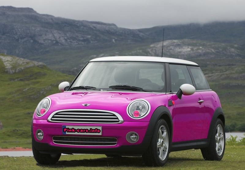 pink mini cooper related images start 300 weili automotive network. Black Bedroom Furniture Sets. Home Design Ideas