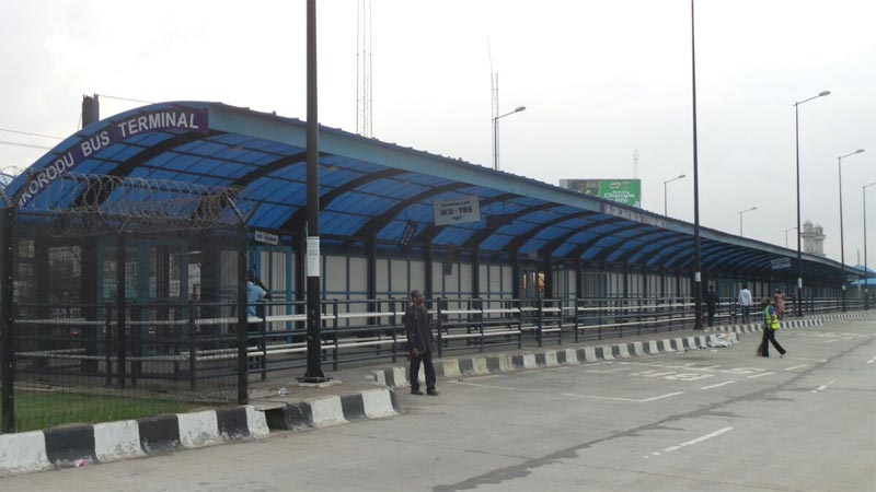 See the state of Ikorodu BRT bus stop after workers' strike