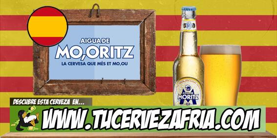 Cerveza Aigua de MORITZ 0,0