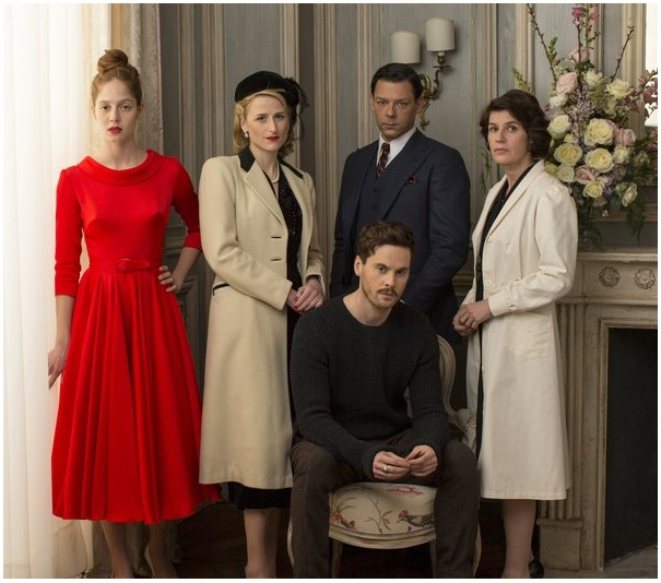 Holly Holy  TOM RILEY  RICHARD COYLE LEAD POST WW2 FASHION HOUSE         WW2 fashion house with cast lead by our beloved Tom Riley and Richard  Coyle  Written and executive produced by Oliver Goldstick  Desperate  Housewives