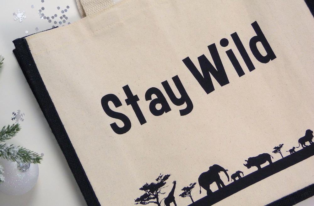 an image of Born Free Canvas Shopper Bag