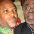 I don't know where Kanu is, Abaribe replies FG