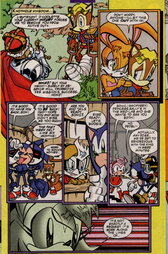 Read online Sonic The Hedgehog comic -  Issue #88 - 7