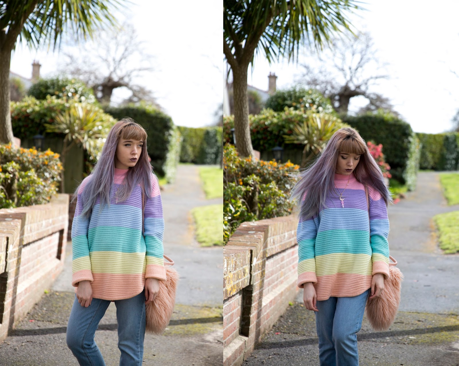how-to-wear-unif-frost-sweater