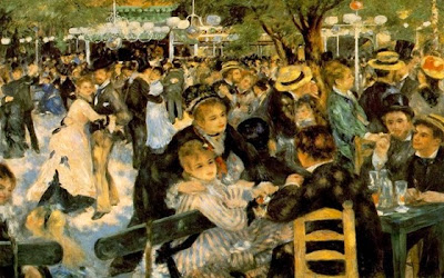Dance at the Moulin de la Galette – Pierre-Auguste Renoir