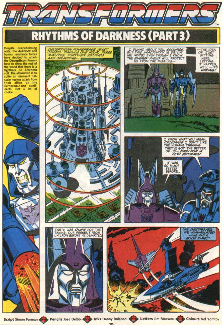 The Transformers (UK) 300 Page 1