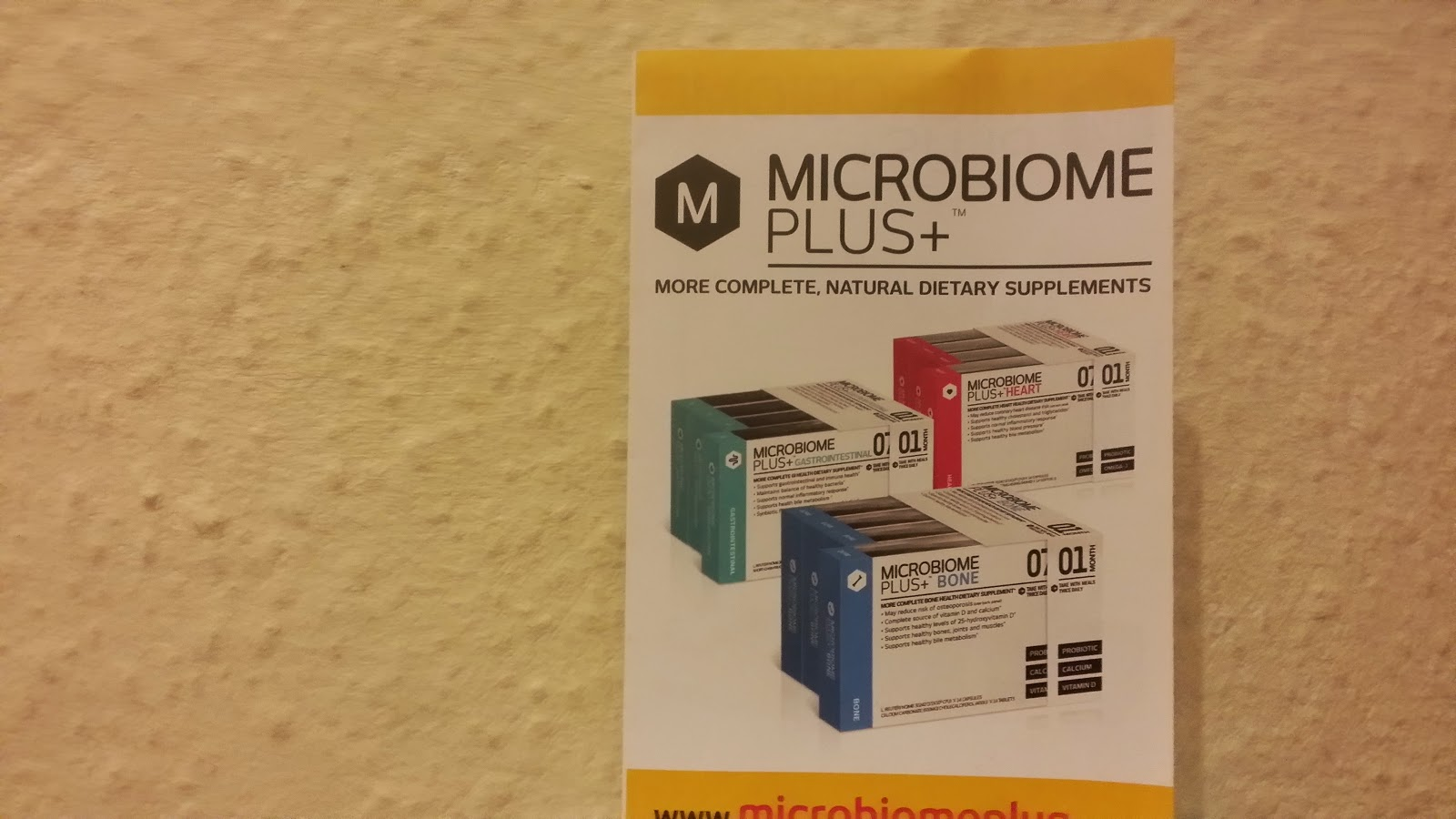 Microbiome Proboitics supplement