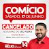 Comício de Hélio é cancelado em pesar a morte da mãe do vereador Tenente compartilhem...