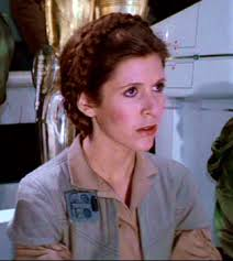 rare image carrie fisher