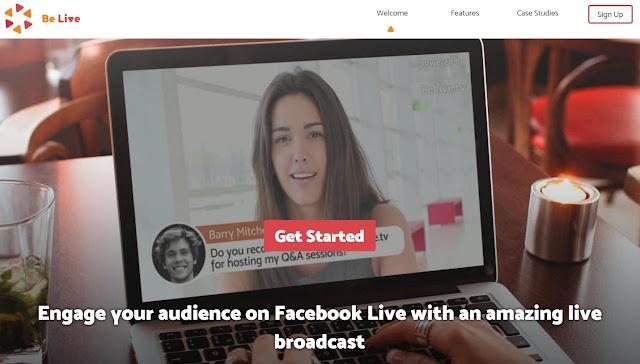 BeLive Facebook Live Interviste broadcast