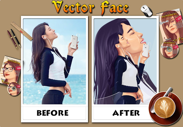 Time Lapse Vector X Vexel Video Photoshop Tutorial New Technique Skin Shading