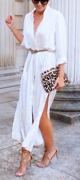 summer outfit idea: maxi dress + heels