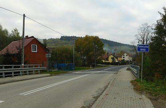 Droga wojewódzka nr 956. Most nad Paleczką.