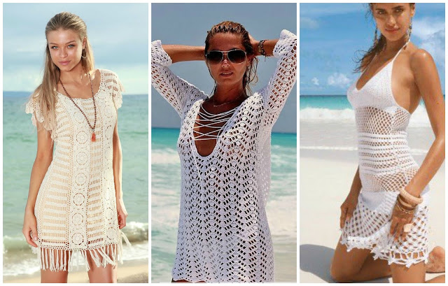 Little Treasures 10 Free Crochet Beach Cover Ups