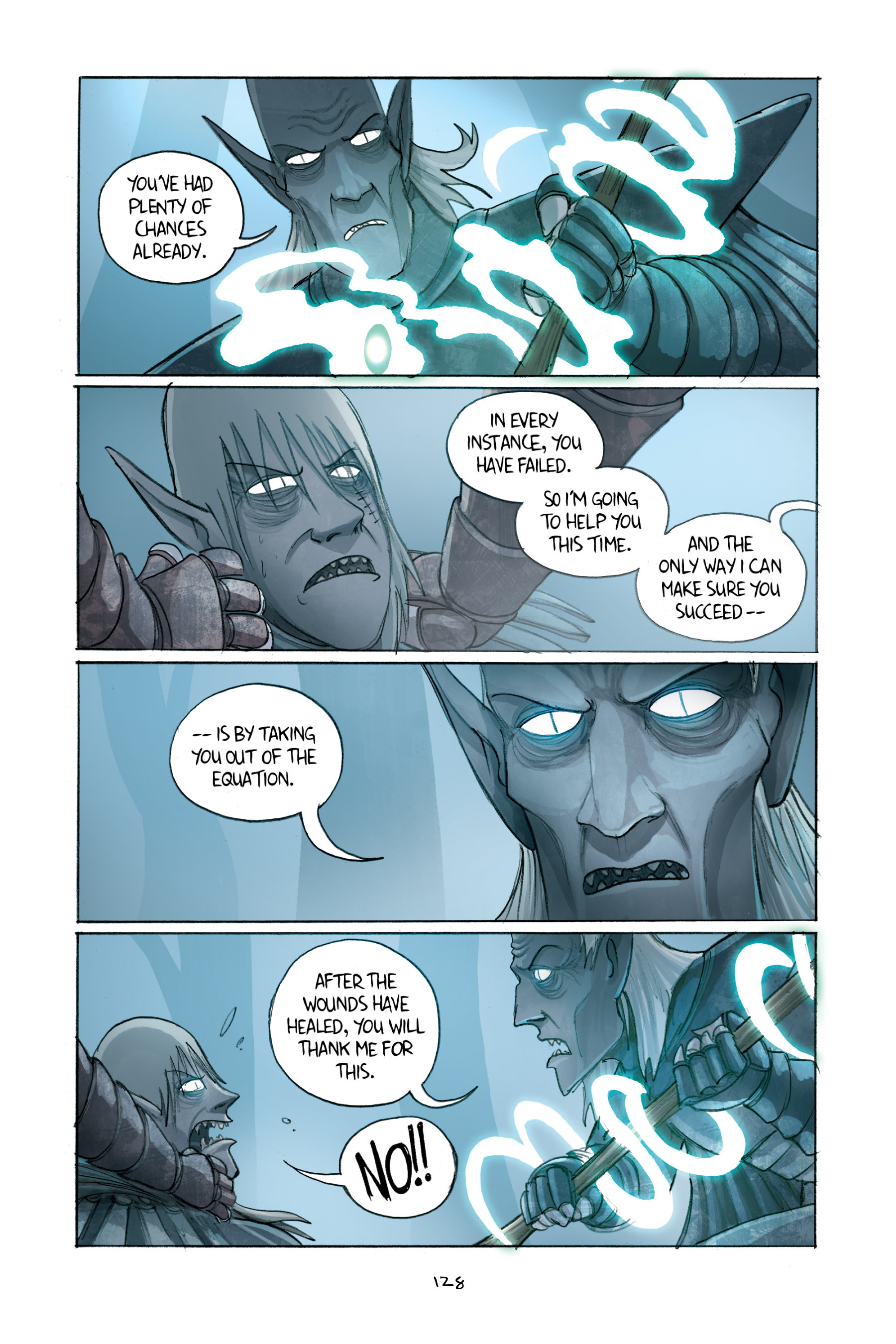Read online Amulet comic -  Issue #2 - 128