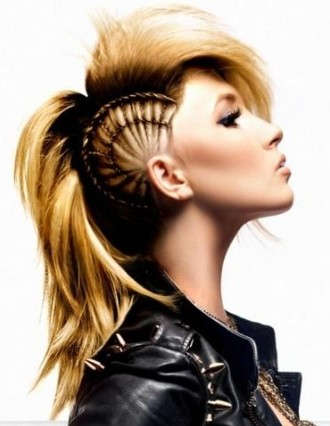 Cool Punk Hairstyles Short Hairstyles Short Curly Hairstyles Black Hairstyle Inspiration Daily Dogsangcom