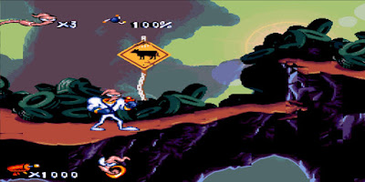 Earthworm Jim - SNES - Captura 1
