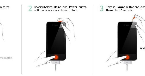 how to put windows phone into dfu mode