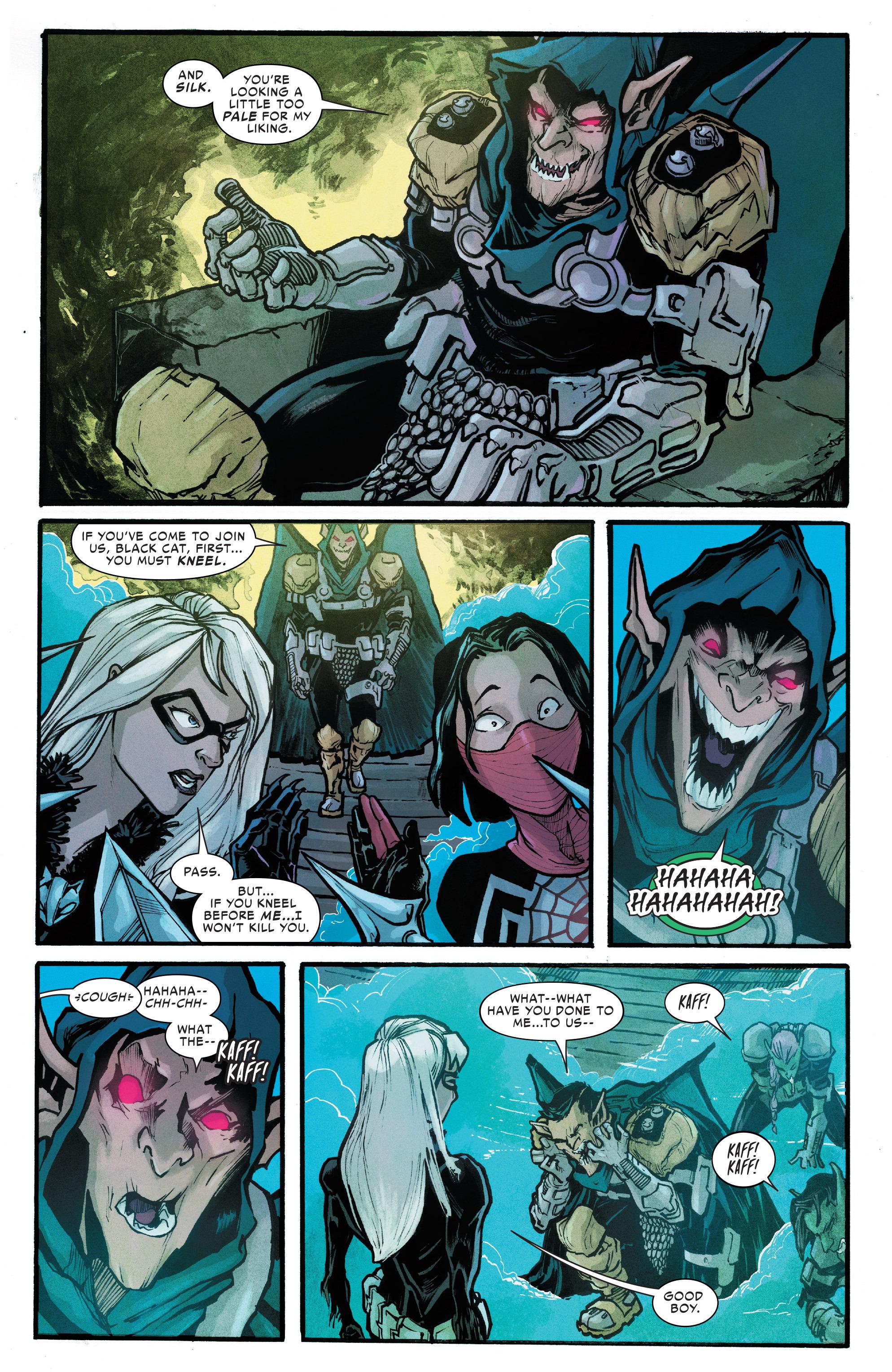 Read online Silk (2016) comic -  Issue #6 - 12