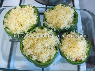 Vegetarian Stuffed Sweet Peppers