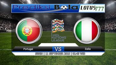 PREDIKSI PORTUGAL VS ITALY 11 SEPTEMBER 2018
