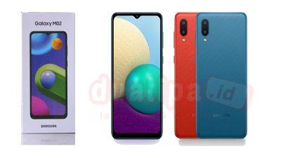 Samsung Galaxy M02 Harga dan Spesifikasi