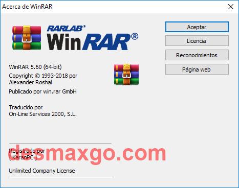 WinRAR v5 2018 Full MEGA mas Serial