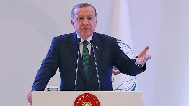 Erdogan Desak Zona Aman Suriah Tengah Dari Serangan Roket Kilis
