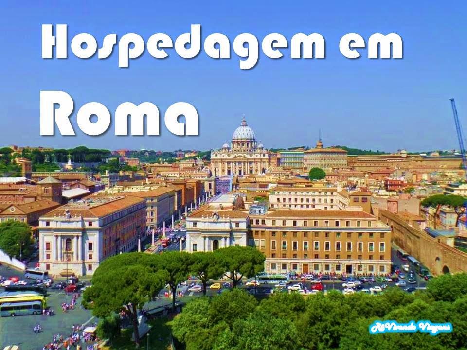 Hospedagem em Roma