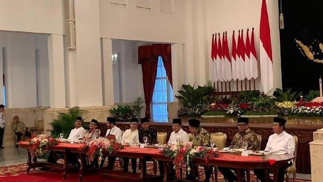 Jokowi Undang Zulkifli Hasan hingga Fahri Hamzah Bukber di Istana