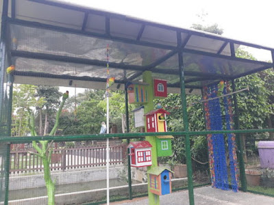 kandang si burung cantik LoveBird Kepanjen Kabupaten Malang