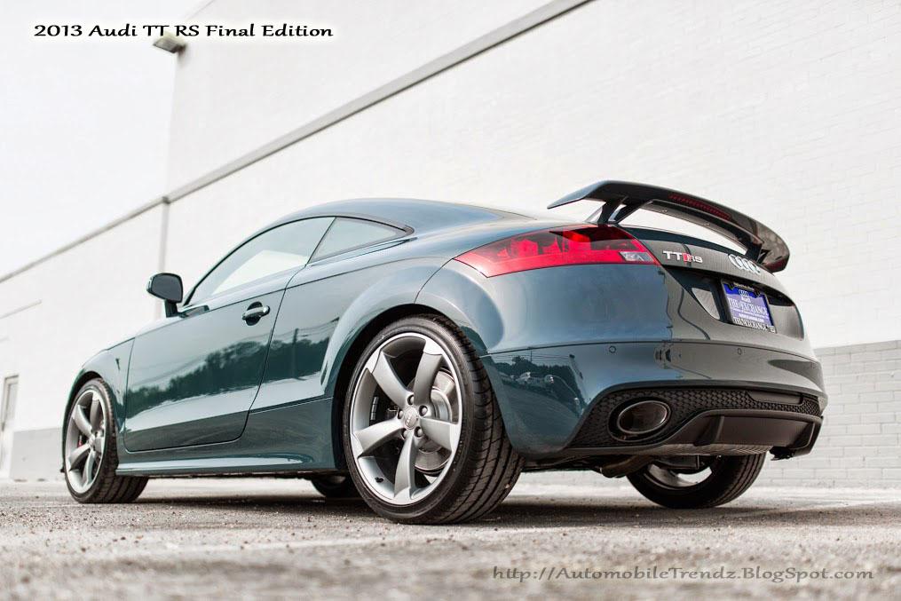 Automobile Trendz: 2013 Audi TT RS Final Edition
