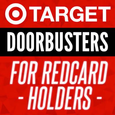 Target Doorbusters for REDcard Holders!