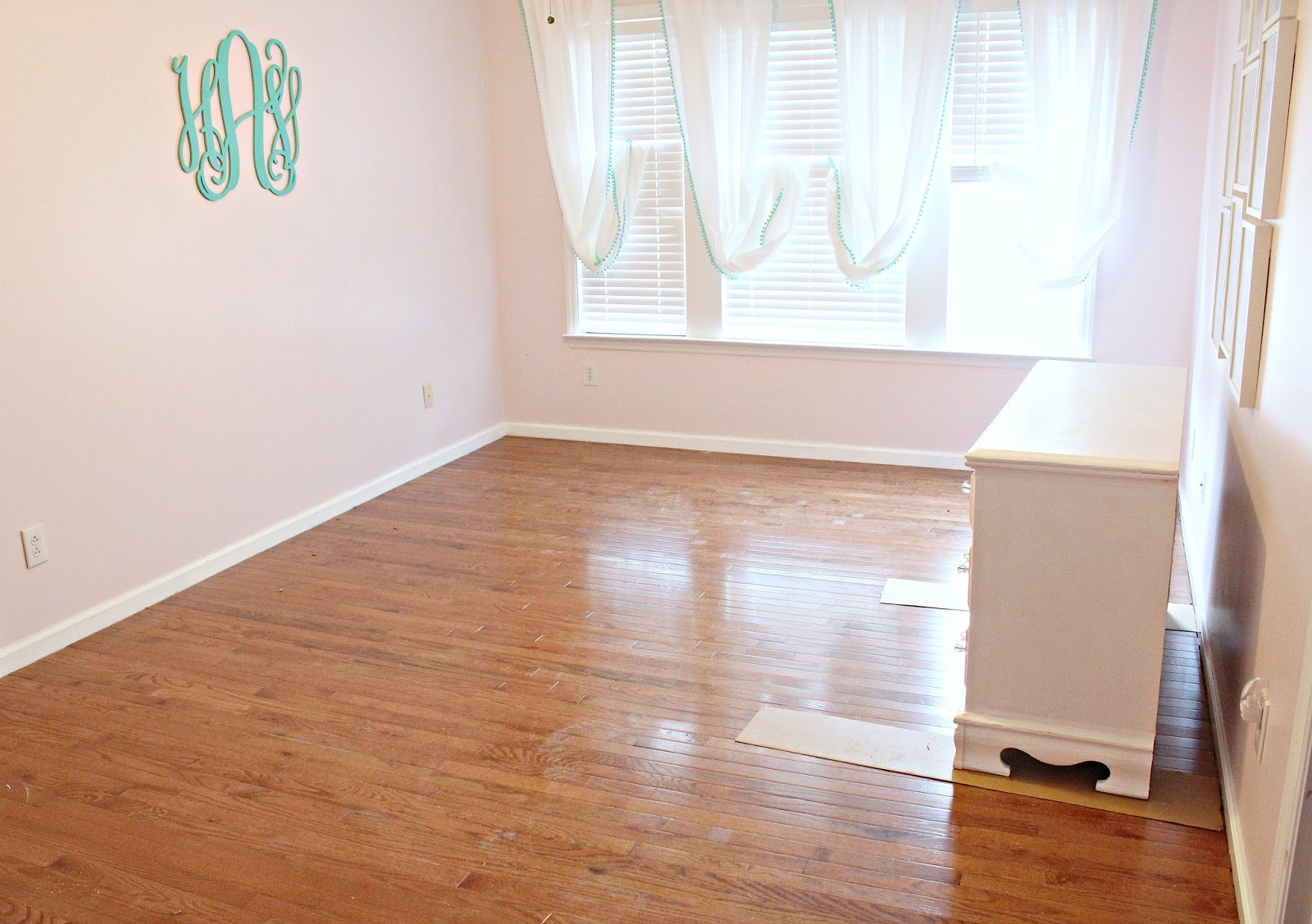 Carolina on my mind hardwood floors upstairs part 7 for Hardwood floors upstairs