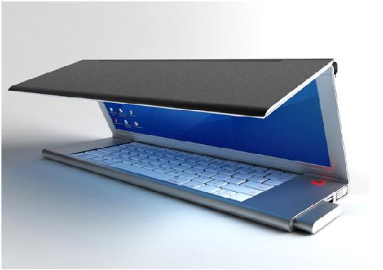 Future Computer Technology: Feno Flexible Foldable Future PC