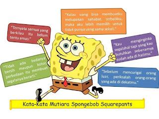 Kata_Kata Mutiara Lucu Spongebob Squarepants