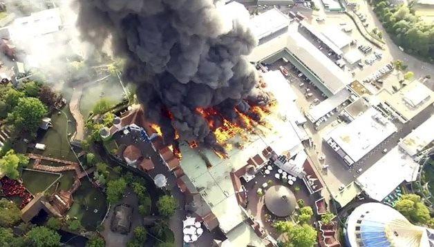 У Німеччині в найбільшому парку розваг сталася пожежа