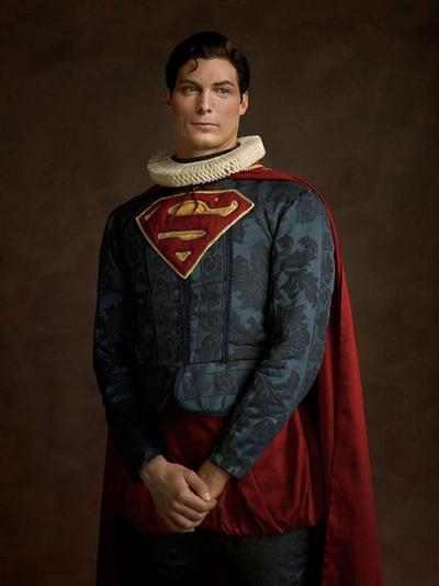 Super heróis na versão Renascentista!
