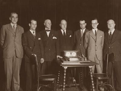 Final del Campeonato de España de Ajedrez de 1933 en el Ateneu Barcelonès