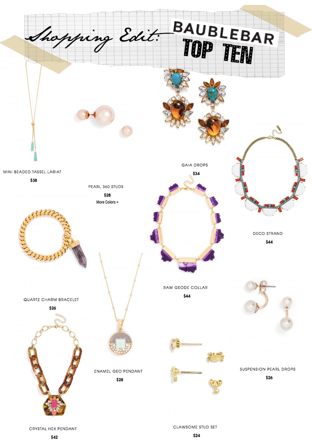 Baublebar top ten jewelry
