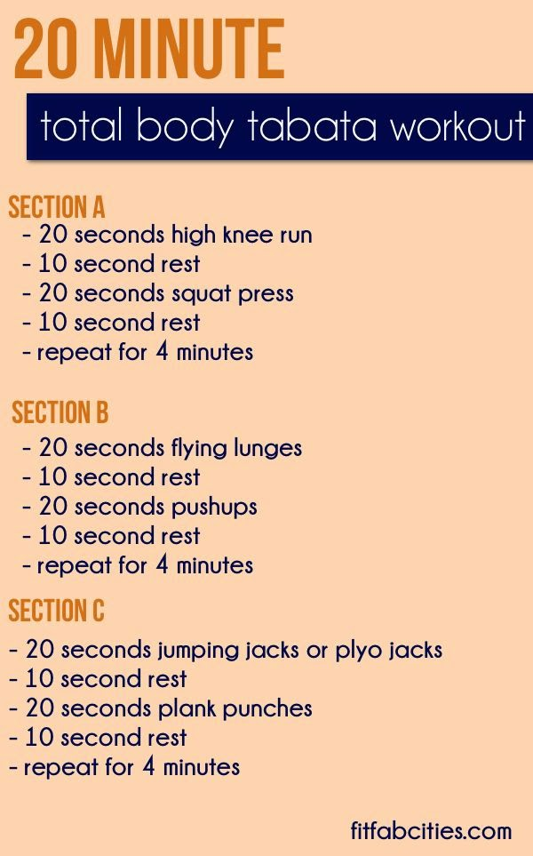 hover_share weight loss - 20 minute body tabata workout