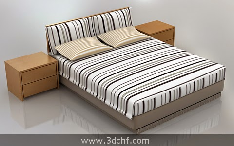 free 3d model bed