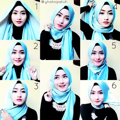 pashmina satin tutorial